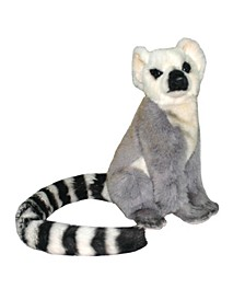 "9"" Armature Lemur Plush Toy"