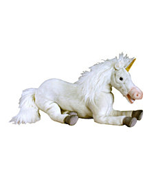 "Hansa 17"" Floppy Unicorn Plush Toy"
