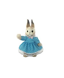"Hansa 11"" Girl Bunny Plush Toy"