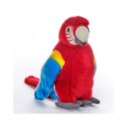 Venturelli Lelly National Geographic Tropical Parrot Plush Toy
