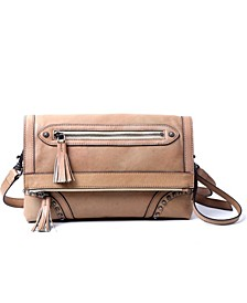 Aster Leather Crossbody Bag