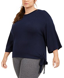 Plus Size Side-Tie Top, Created for Macy's