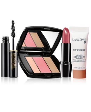 Choose Between Sunkissed Cheeks or Sunset Eyes with any $37.50 Lancome Purchase, Worth up to $139*