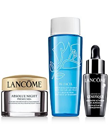 SPEND MORE. GET MORE! Spend $80 and receive an additional skincare trio. Total gift worth up to $211*
