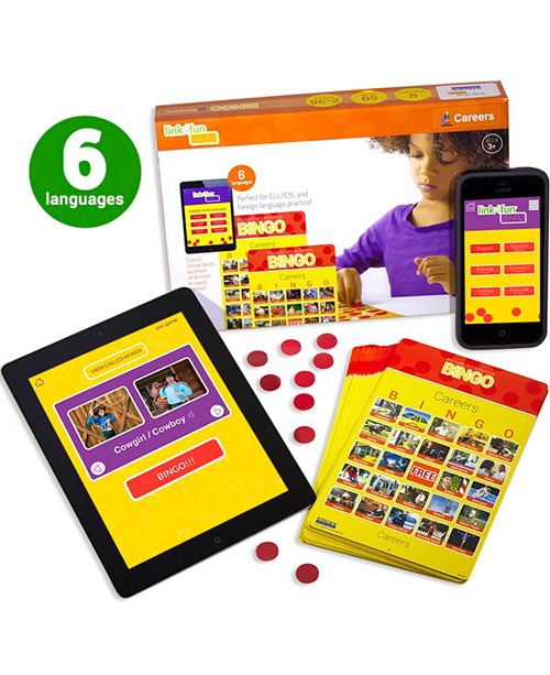 Stages Learning Materials Link4Fun Real Photo Careers Bingo Game