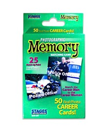 Stages Learning Materials - Picture Memory Card Game - Careers