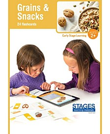 Link4fun Grains Snacks Interactive Flashcard Set With Free iPad App