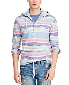 Polo Ralph Lauren Men's Stripe Drawstring Hoodie