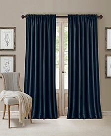 "All Seasons Faux Silk 52"" x 84"" Blackout Curtain Panel"