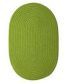 Boca Raton Bright Green 2' x 4' Accent Rug