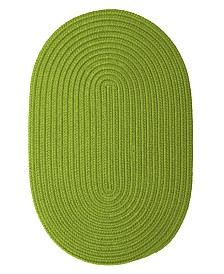Colonial Mills Boca Raton Bright Green 2' x 4' Accent Rug