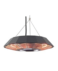 Infrared Electric Outdoor Heater - Hanging with LED and Remote