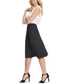 DKNY Draped Asymmetrical Skirt