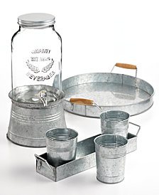 Artland Masonware Galvanized Tin Collection