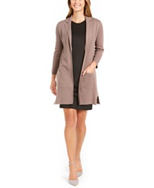 Nine West Pocket Lapel-Collar Jacket