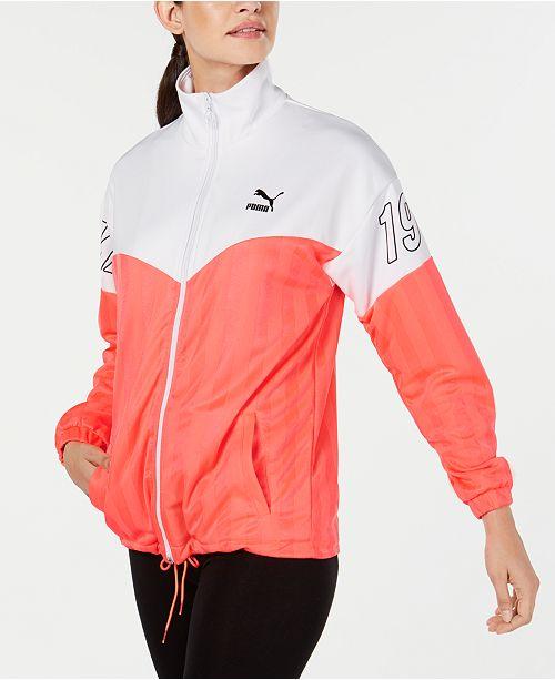 Puma luXTG Jacquard Colorblocked Jacket