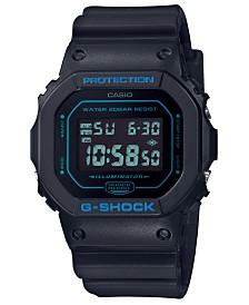 G-Shock Men's Digital Black Resin Strap Watch 42.8mm