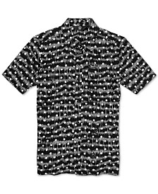 Volcom Big Boys Mag Sketch Printed Shirt
