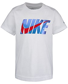Toddler Boys Swoosh-Print Cotton T-Shirt