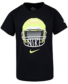 Toddler Boys Football-Print Cotton T-Shirt
