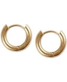 "Extra Small Mini Hoop Earrings 5/8"""