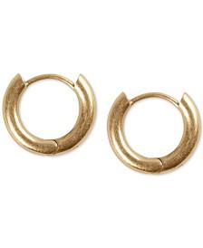 "Lucky Brand Extra Small Mini Hoop Earrings 5/8"""