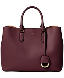 Dryden Marcy Leather Satchel