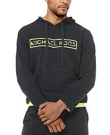 Michael Kors Men's Brushed Jersey Logo Hoodie