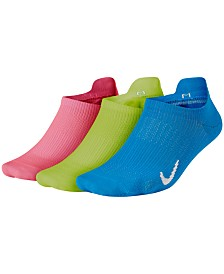 Nike Everyday Plus 3-Pk. Lightweight No-Show Socks