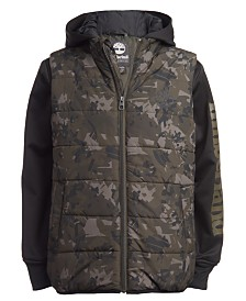 Timberland Big Boys Ravine Hybrid Jacket