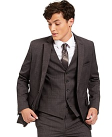 INC Men's Slim-Fit Crosshatch Suit Jacket, Created for Macy's