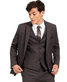 INC Men's Slim-Fit Crosshatch Suit Jacket, Created for Macy's