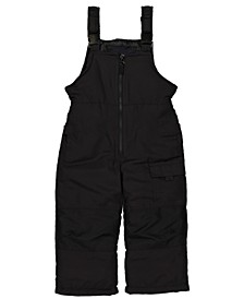 Little Boys Zip-Front Snowbib