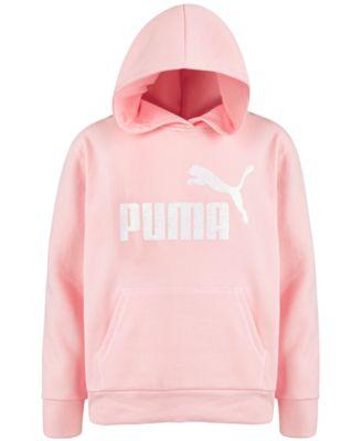PUMA Baby Girls/' Fleece Sweater,Black