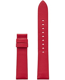 Access Women's Sofie Interchangeable Red Leather Smart Watch Strap