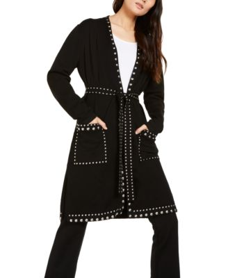INC Studded Cardigan, Created For Macy's
