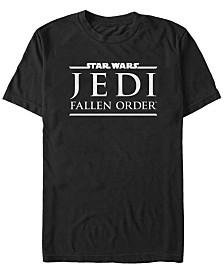 Star Wars Men's Jedi Fallen Order Logo Short Sleeve T-Shirt