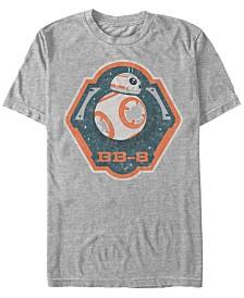 Star Wars Men's Bb-8 Badge Logo Short Sleeve T-Shirt