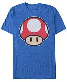Men's Super Mario Mushroom Short Sleeve T-Shirt