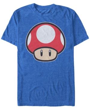 Nintendo Men's Super Mario Mushroom Short Sleeve T-Shirt