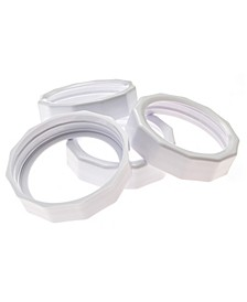 Wide Mouth Tough Bands - Set of 4