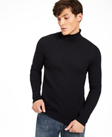 I.N.C. Men's Elite Turtleneck Sweater, Created For Macy's