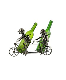Tandem Bicycle Wine Bottle Holder