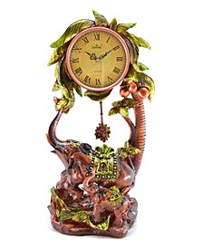 Clock with Elephants