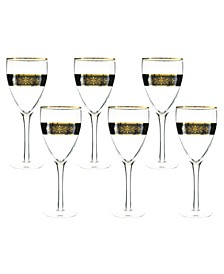 6 Piece Wine Glasses
