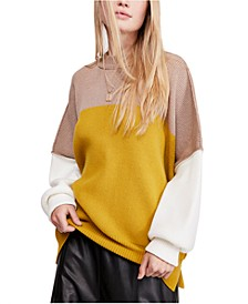 Easy Street Colorblock Sweater