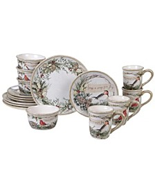 Holly and Ivy 16pc Dinnerware Set