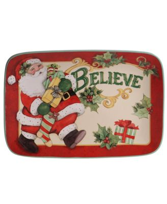Believe Rectangular Platter