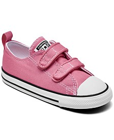 Converse Toddler Girls Chuck Taylor All Star 2V Ox Stay-Put Closure Casual Sneakers from Finish Line