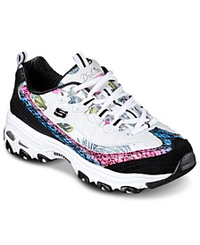 Women's D'Lites Runway Ready Wide Width Walking Sneakers from Finish Line